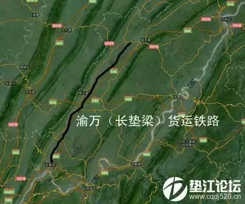 梁平垫江在修四车道高速公路和铁路分别是什么吗?